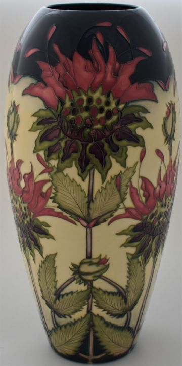 Moorcroft Pottery Bergamot Vase Designed By Vicky Lovatt Limited Edition